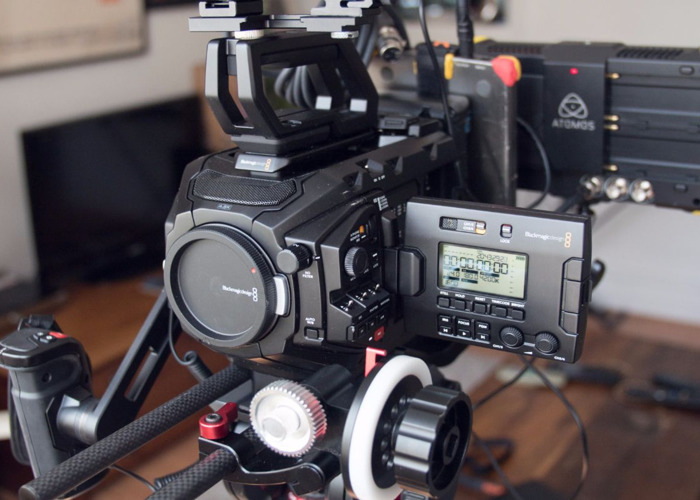 Rent Blackmagic URSA Mini Pro n16 4 6K EF in London | Fat Llama