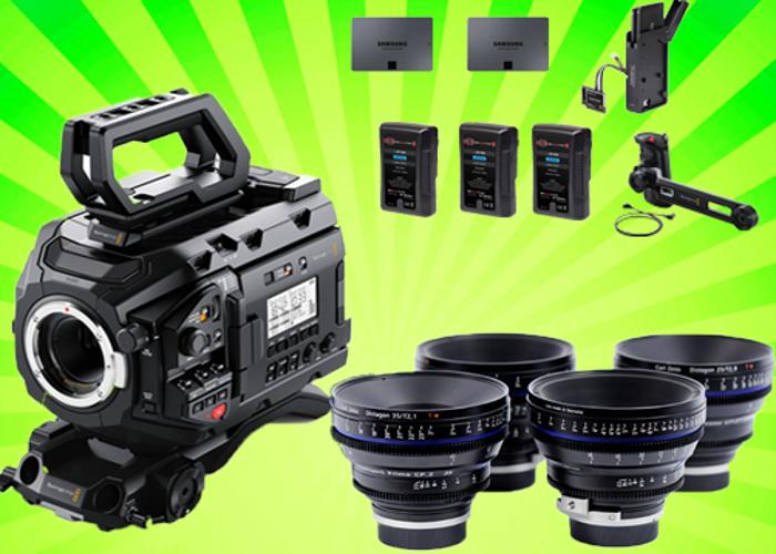 Blackmagic Ursa Mini Pro 4.6k Package + Zeiss CP2 Lens Set - 1