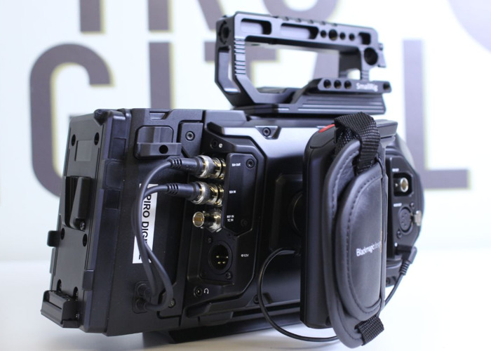 Rent Blackmagic URSA Mini Pro 4 6k Shooting Kit + Operator