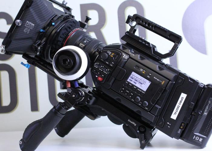 Rent Blackmagic URSA Mini Pro 4 6k Shooting Kit + Operator