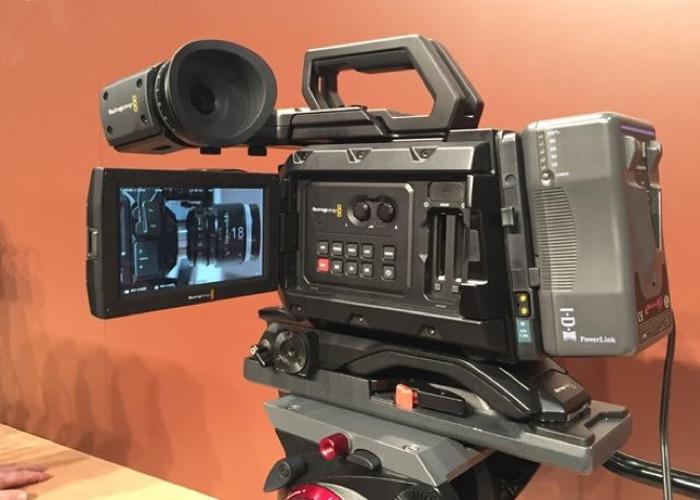 Blackmagic URSA Mini Pro 4k, EF Mount with lenes batteries  - 1