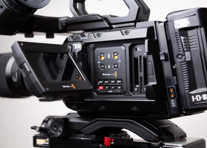 Rent Blackmagic URSA Mini Pro G2 Kit inc  EVF Viewfinder