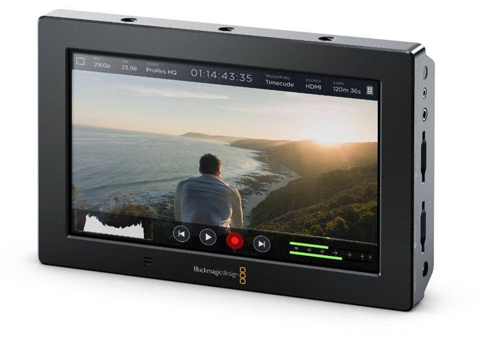 "Blackmagic Video Assist 4K 7"" Monitor & Recorder - 1"