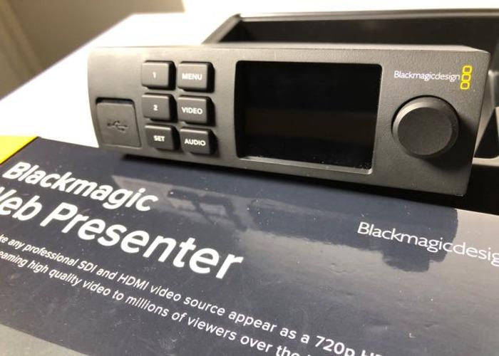 Blackmagic Web Presenter - 2