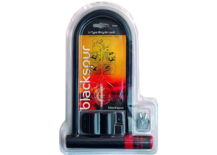 Blackspur BB-BH211 U-Type Bicycle Lock - 1