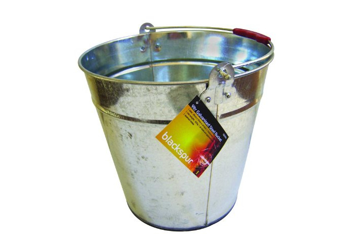 Blackspur BB-GB200 Galvanised Steel Bucket - 1