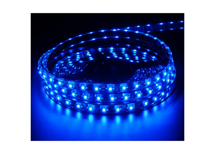 Blue 24V 1M 60 Smd LED Strip Light Lighting Lamp Replace Lorry Truck Caravan Bus - 1