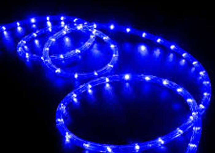 Blue LED Rope Light - 1
