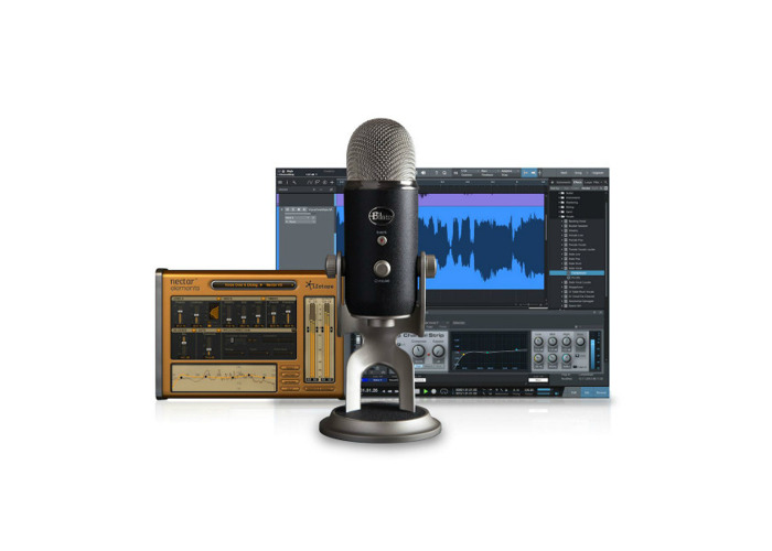 Blue Yeti Pro Studio All-In-One Vocal Recording Bundle - 1