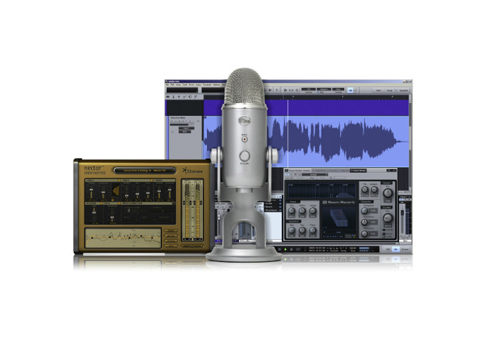 Blue Yeti Studio All-In-One Vocal Recording Bundle - 1