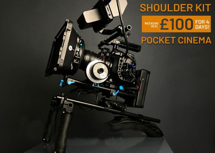 BMPCC 4k   Shoulder Rig for Cinema   Blackmagic Pocket - 1