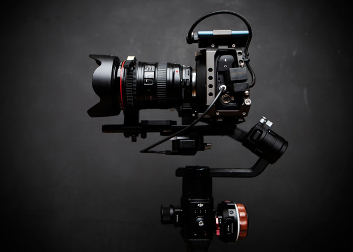 Bmpcc 4K 6K ronin S bundle w tilta nucleus nano follow focus  - 1