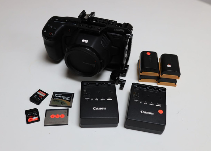 BMPCC 6k Basic Kit - 1
