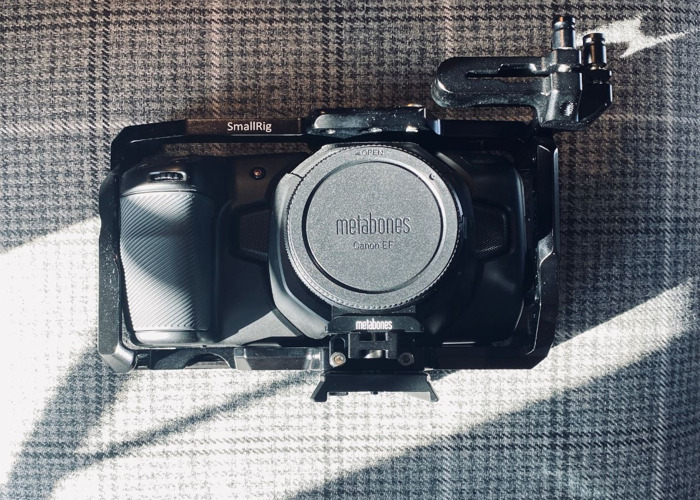 BMPCC4k - CAMERA BODY, Batteries, Mounts, SSD (No Lens) - 1