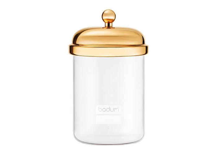 Bodum 0.5L Classic Storage Jar Gold - 1