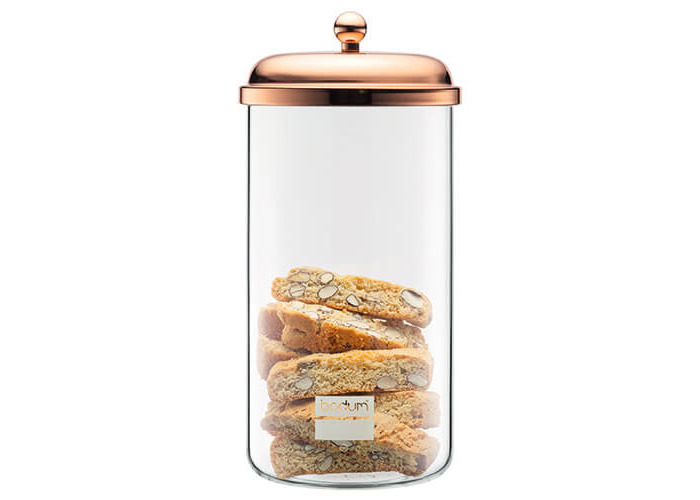 Bodum 11714-18 Chambord Classic Storage Jar, 68 oz, Copper - 1