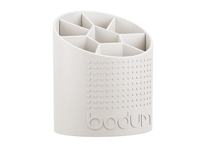 Bodum 1-Piece Plastic Bistro Utensil Holder, White - 1