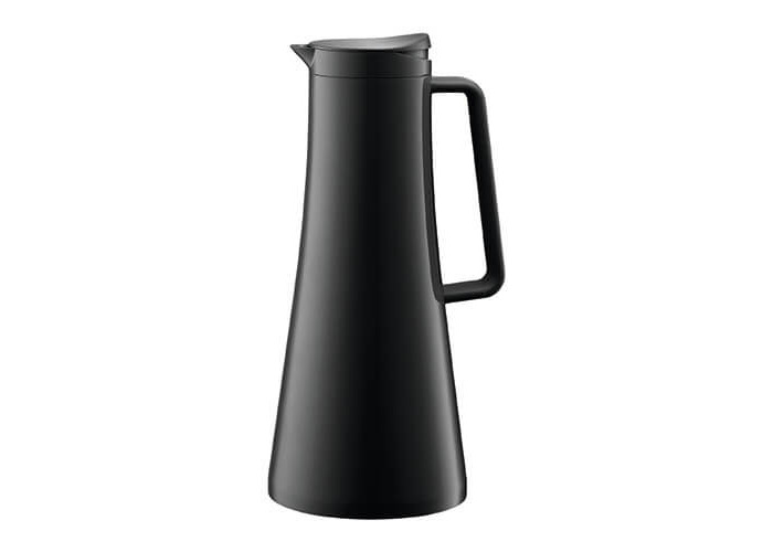 Bodum Bistro Thermo Jug - 1.1 L/37 oz, Black - 1