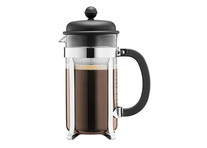 BODUM Caffettiera 3 Cup French Press Coffee Maker, Black, 0.35 l, 12 oz - 1