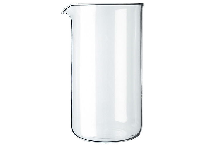 Bodum Spare Glass for French Press Coffee Makers, 1.5 Litre - 12 Cup - 1