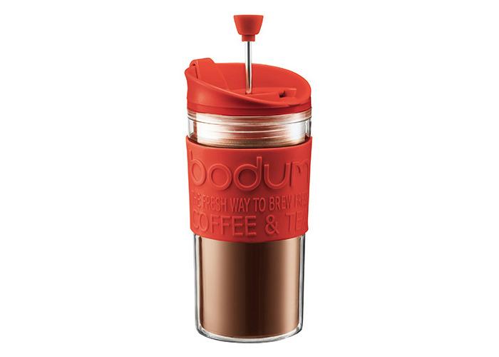 BODUM Travel Press Set Coffee Maker - Red - 1