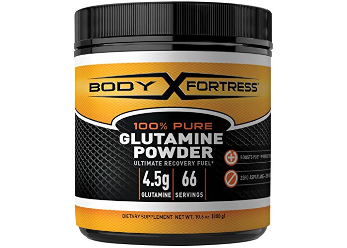 Body Fortress 100% Pure Glutamine Powder, 300 Grams - 1