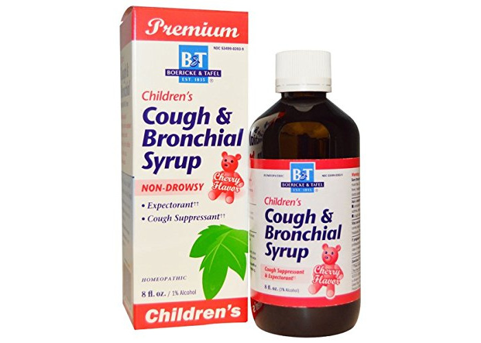 Boericke & Tafel Childrens Cough & Bronchial Syrup, Child , 8 Oz - 1
