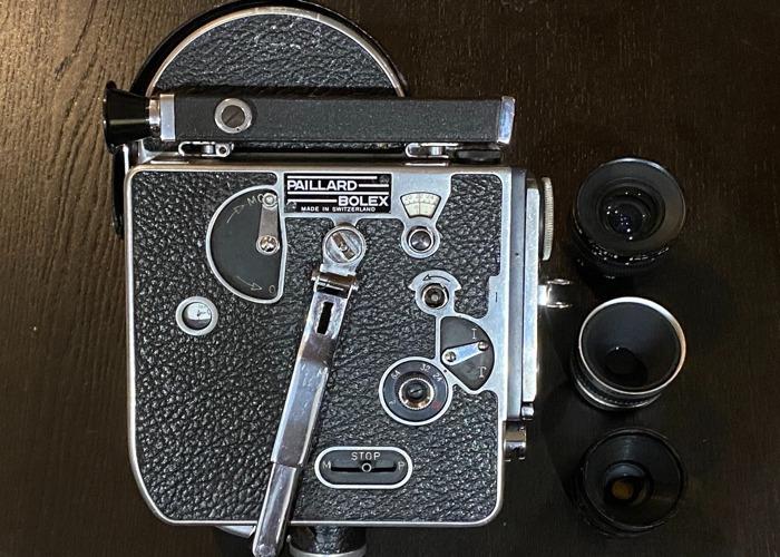 Bolex H16 16mm Film Camera - 1