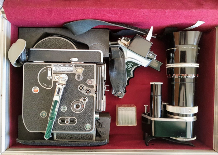 Rent Bolex H16 Reflex 16mm film camera in London