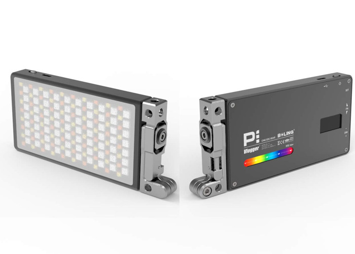 BOLING BL-P1 RGB 2500-8500K 1480lux LED Camera Video Light 9 Lighting Effects UK