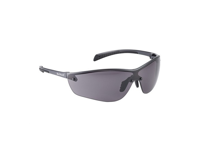 Bolle Safety SILPPSF Silium+ Safety Spectacles Platinum - Smoke - 1