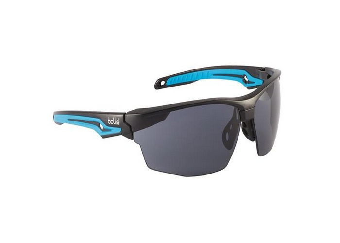 Bolle Safety TRYOPSF TRYON Platinum Safety Glasses - Smoke - 1