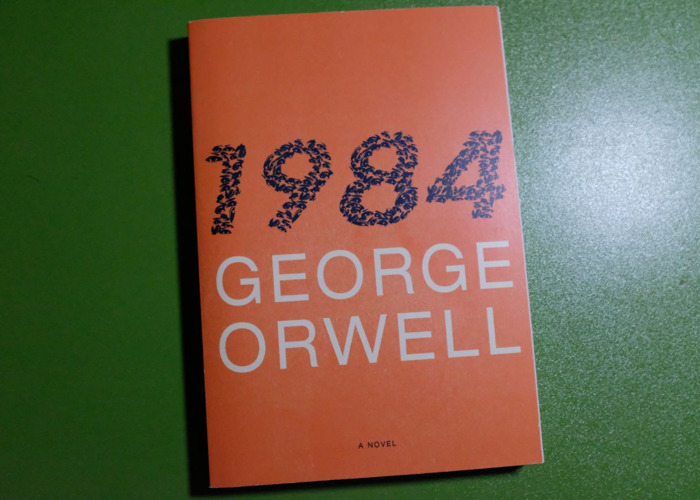 """Book: """"1984"""" by George Orwell - 1"""