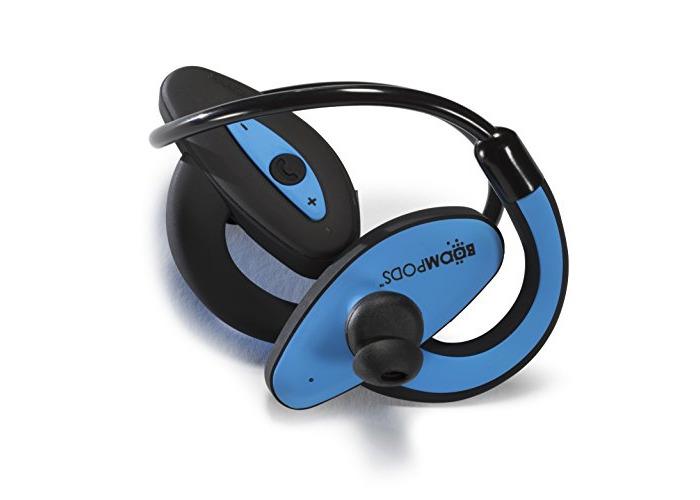 Boompods Sportpods Bluetooth Earphones - Blue - 2
