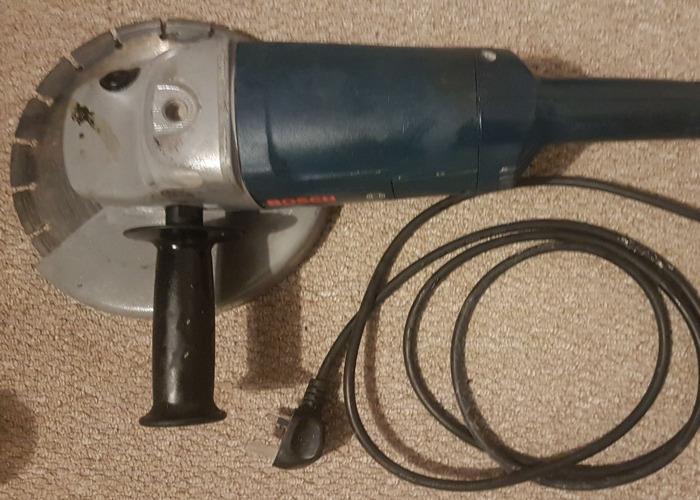"Bosch 230mm (9"") Angle Grinder - 2"