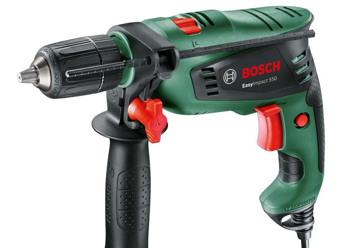Bosch 550W Hammer drill EasyImpact 550 - 1