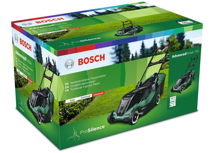 Bosch AdvancedRotak 750 Electric Lawnmower - 1700W - 2