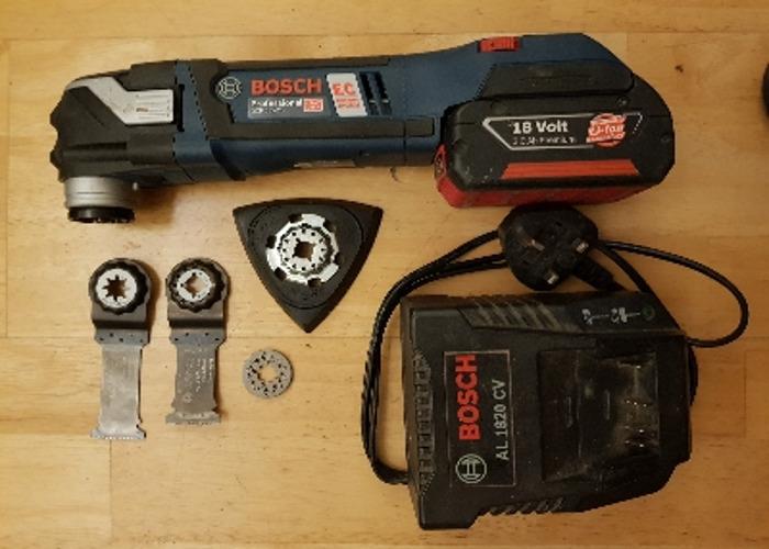 Bosch cordless multi tool - 1