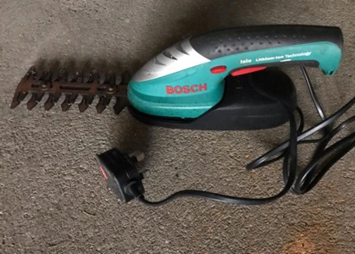 Bosch cordless shrub trimmer - 1