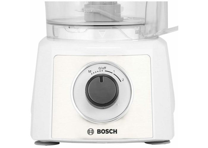 Bosch MCM3500MGB Compact Food Processor - White - 2