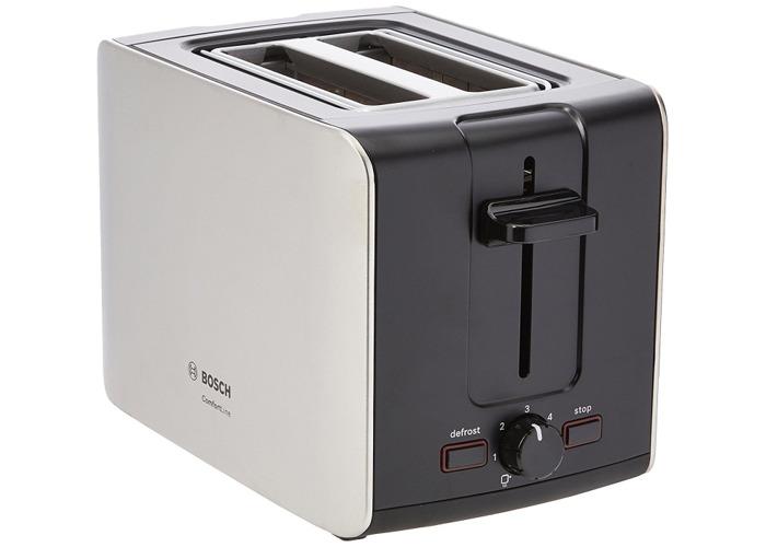 Bosch TAT6A913GB Comfort Line 2-Slice Toaster - 1
