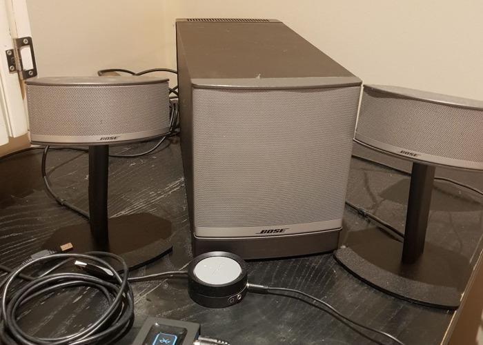 Bose Companion 50 Multimedia Speaker System - 1