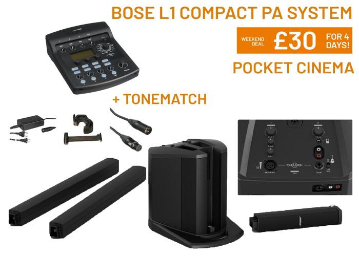 Bose L1 Compact Speaker PA | Tonematch | Singing - 1