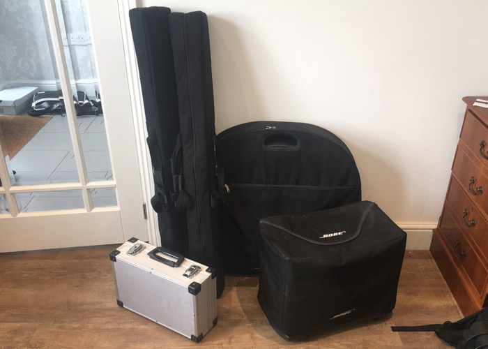 Bose PA system L1 model 1 with Bass - 1