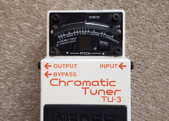 Boss Chromatic Tuner - 1