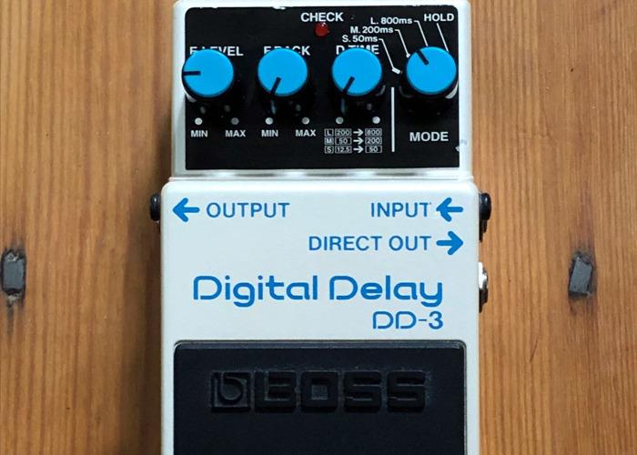 Boss DD-3 Digital Delay Guitar Pedal - 1