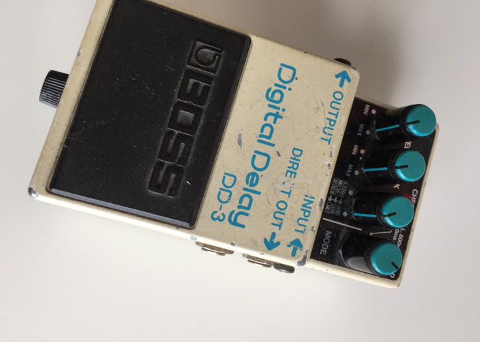 BOSS Digital Delay DD-3 - 1