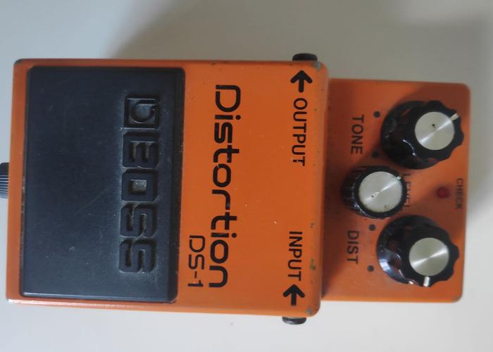 Boss Distortion DS.1 - MODDED - 1