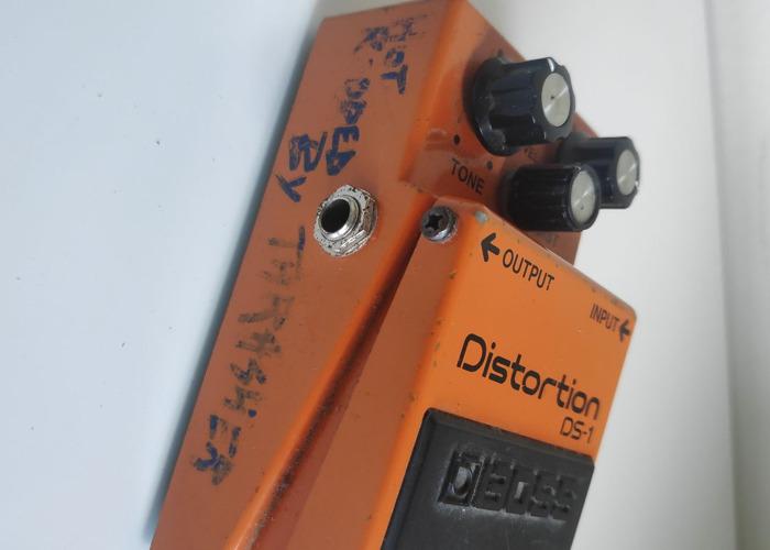 Boss Distortion DS.1 - MODDED - 2