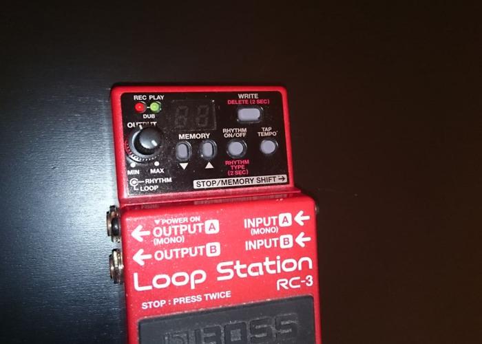 Boss Loop Station guitar pedal RC-3 - 1